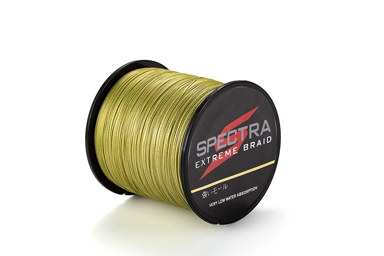 color verde militar de 100/a 2000/m Hilo trenzado para pescar Extreme Braid de Spectra resiste de 2,7 a 136 kg