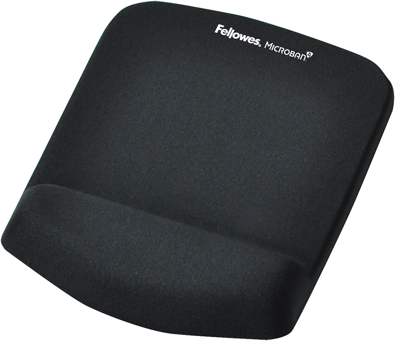Limited Edition 91782 Black Fellowes Memory Foam Wrist Rest