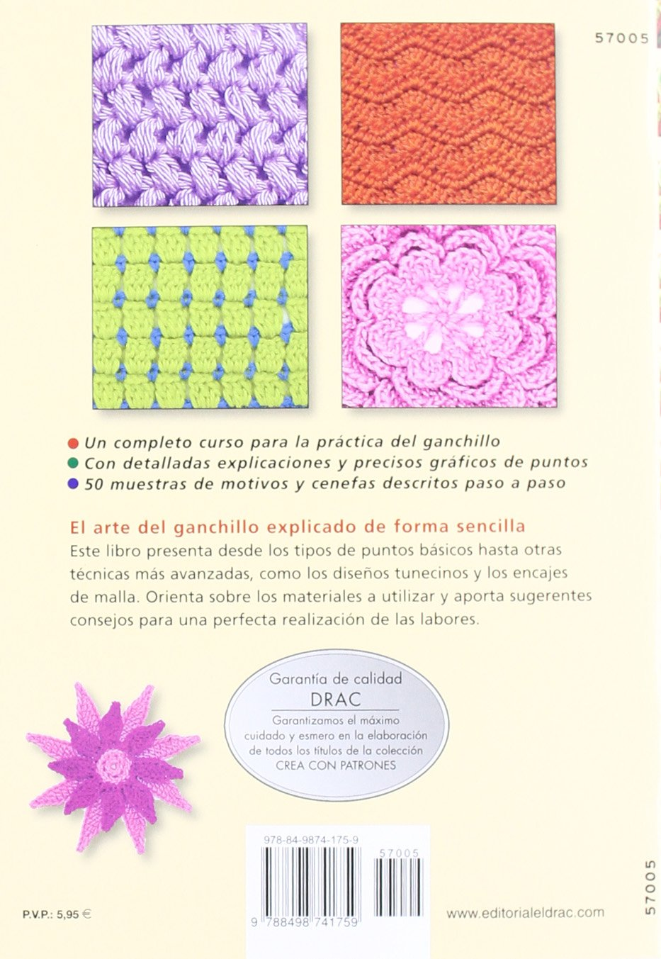 Curso práctico de ganchillo / Crochet Workshop (Crea con patrones ...