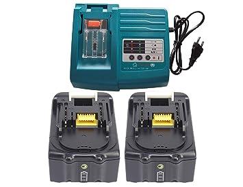 YASI MFG® 1.5A DC18RA DC18RC DC18RD para Makita cargador 14.4V-18V ...