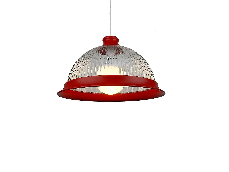 pmdl1-dr-33 cm rot Acryl American Diner Deckenleuchte Anhänger ...