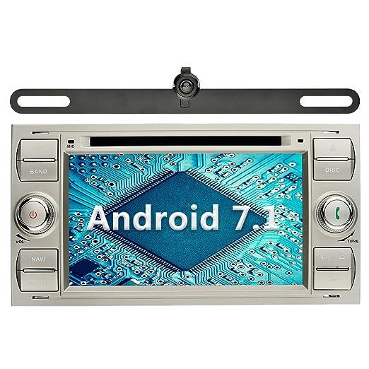 1 opinioni per YINUO 7 Pollici Android 7.1.1 Nougat 2GB RAM 2 Din In Dash Quad Core Autoradio