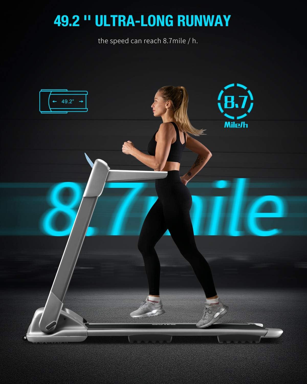 WEKEEP OVICX Q2S Folding Portable Treadmill Manual Compact Walking ...