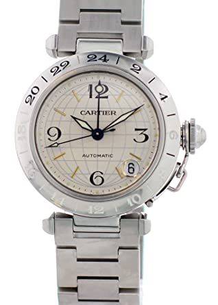 9df85e2e76f9a Amazon.com: Cartier Pasha Automatic-self-Wind Male Watch 2377 ...