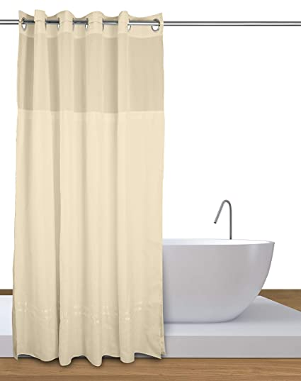Image Unavailable Not Available For Color Curtain Express Premium Hookless Shower With Liner