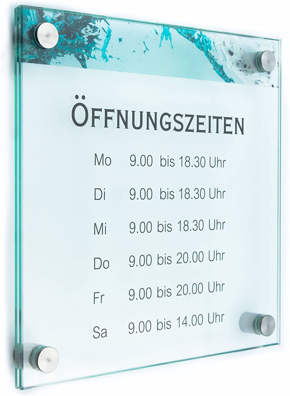 T/ürschild Glas Vitrum B 200//100 mm B2
