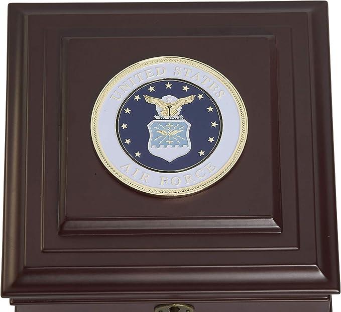 Allied Frame Us Air Force Medallion Desktop Box Home Kitchen Amazon Com