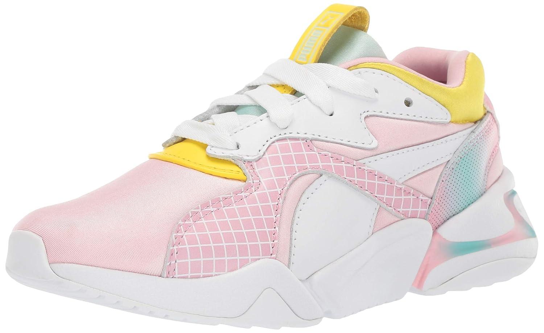 kijk uit voor het winkelen elegante schoenen Amazon.com   PUMA Kids' Nova X Barbie Sneaker   Sneakers