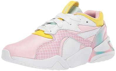sports shoes b65f6 e836b Amazon.com | PUMA Kids' Nova X Barbie Sneaker | Sneakers