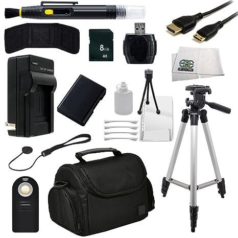 SSE Paquete de accesorios Bundle para la Nikon D3200, D3300, D5100 ...