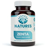 ZENTA - The Natural Anxiety Relief and Anti Stress Supplement to Help Calm Body...