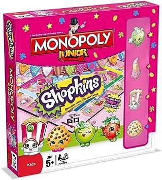 Monopoly Junior Shopkins wersja angielska: Amazon.es: Libros en idiomas extranjeros