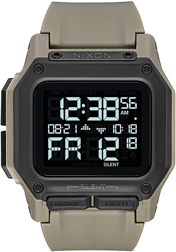 Reloj NIXON Regulus All Black A11802711 Hombre Crema