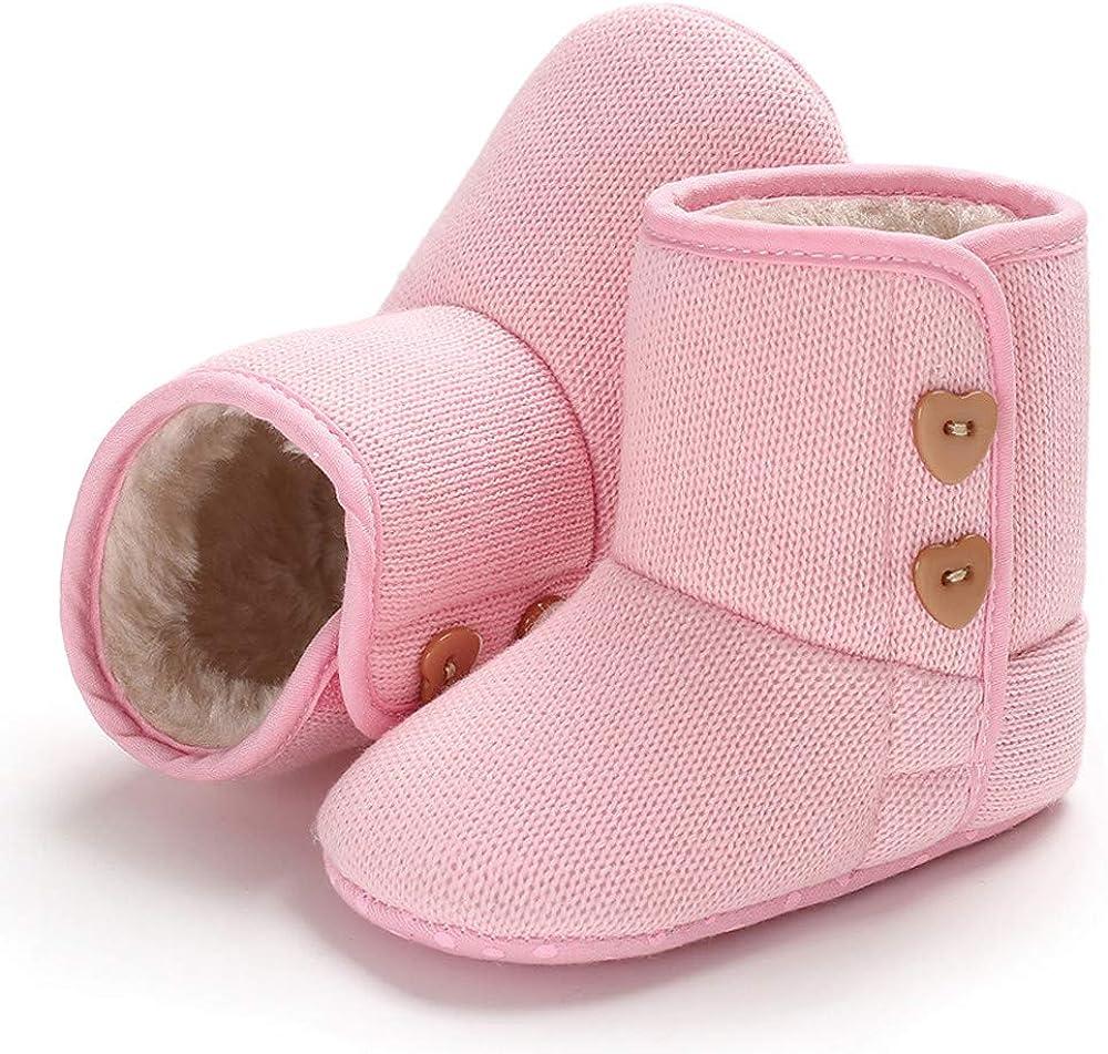 jufengliangyou Newborn Soft Bottom Boots Child Baby Girl Boy Cotton Shoes Winter Warm Sequin Boots Toddler Shoes Baby Shoes Cotton Shoes