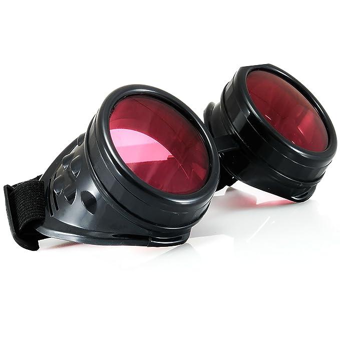 Welding Cyber Goggles Goth Schutzbrille Cosplay Antique Sonnenbrille Victorian Gold Spikes MFAZ Morefaz Ltd W41v3TY0
