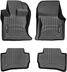 WeatherTech Custom Fit FloorLiner for F-Pace/Velar - 1st & 2nd Row (Black)