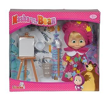 e Simba pittore Masha bambola 109302047 come la dell'orso mOn0wNv8