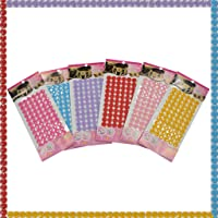 Asian Hobby Crafts Button Stickers (6 Pieces)