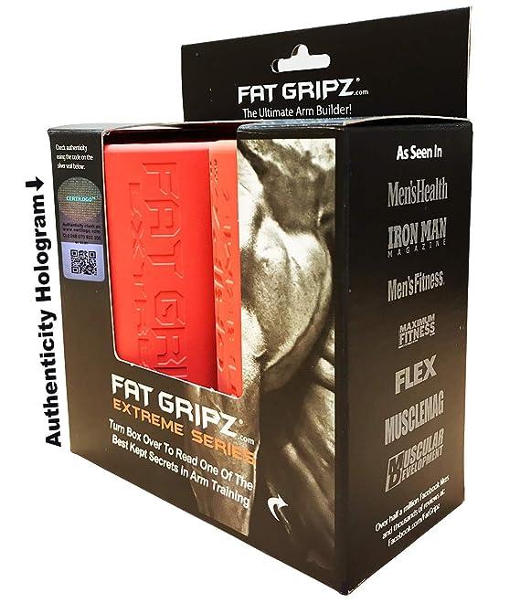 Fat Gripz Extreme Hantelgriffe, Ø 7cm, Orange