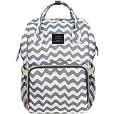HEYI Diaper Bag Backpack Travel Large Spacious Tote Shoulder Bag Organizer