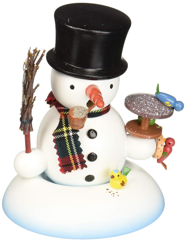 完璧 Alexandor B0765YG8ZV TaronホームDecor 5.5 Dregeno Snowman with Birds Incense Burner 5.5 x