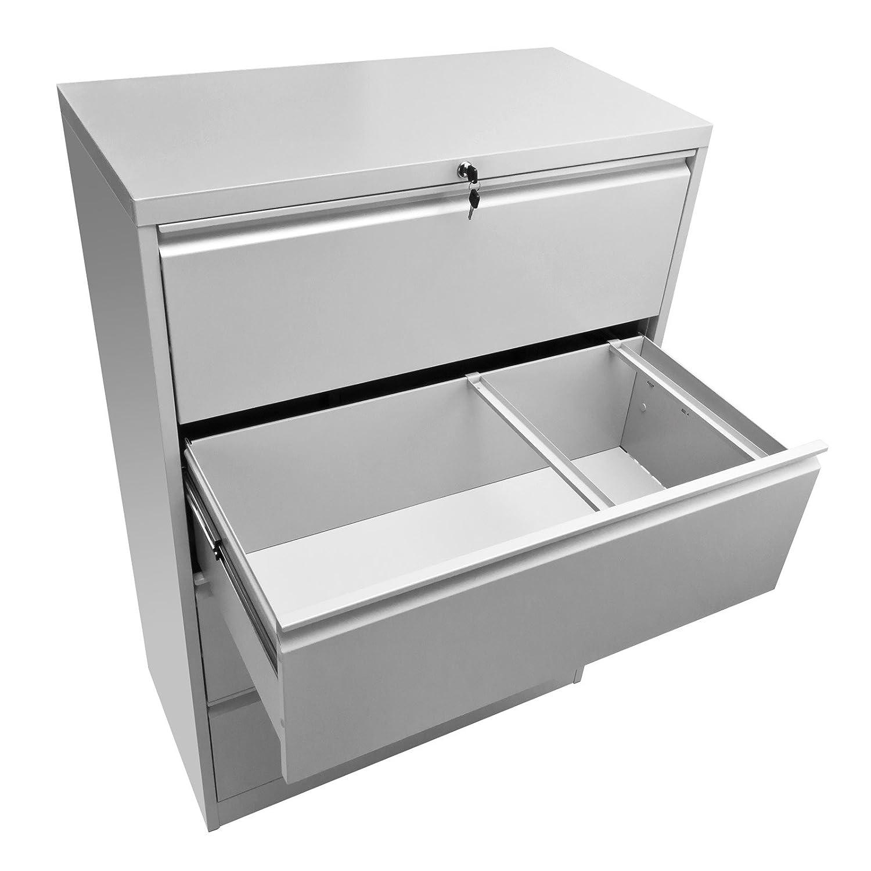 DEMA Hängeregistratur/Registerschrank 4 Schub A4: Amazon.de: Küche ...