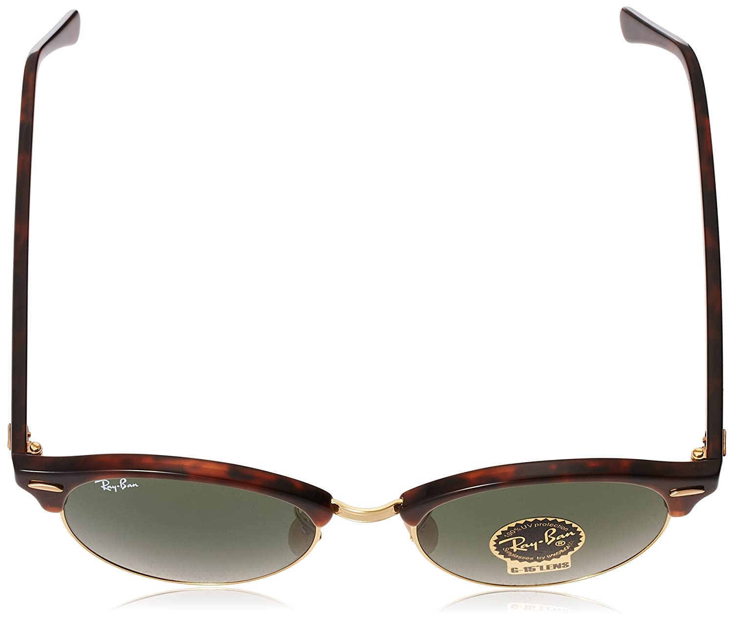 Amazon.com: Ray-Ban Unisex Clubround Classic RB4246 990 Non ...