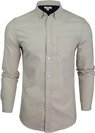 Xact – Camisa informal – sin modelo – con cuello – Manga larga – Hombre