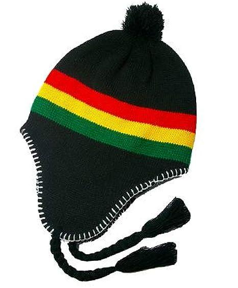 Reggae Rasta Hats Bob Marley Beanies Knitted Caps Winter Summer Hat Beret Beanie  Cap Skull a50b699c3fa