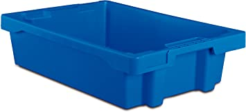 Tayg Euro-caja para almacen y transporte 6415, Azul, 600 x 400 x ...