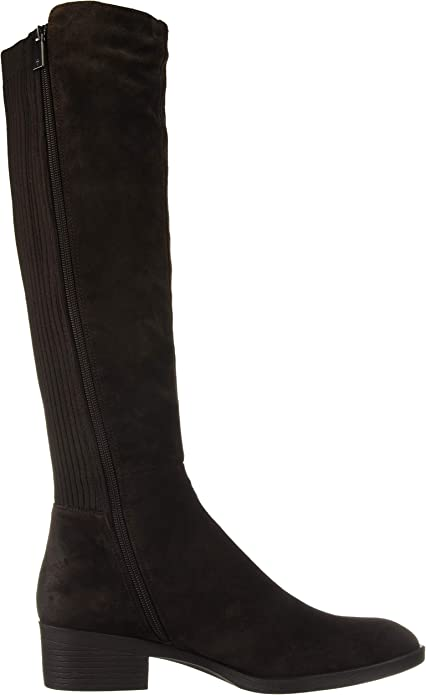 Levon Tall Shaft Pull on Boot Knee High