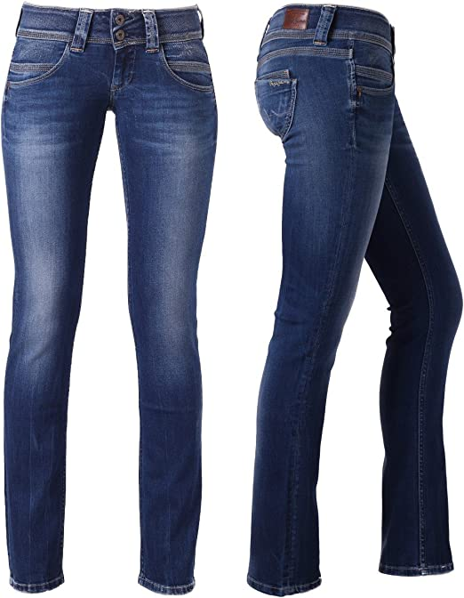 Pepe Jeans Venus Blau Slim Hose neue Kol. 2014