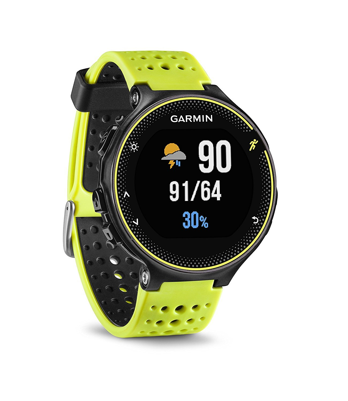 Amazon Com Garmin Forerunner 230 Force Yellow Certified