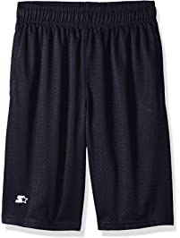Starter Boys' Mesh Short with White Logo