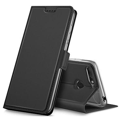 Flot Geemai Huawei Y6 2018 Case, Huawei Y6 2018 Cover [Card Holder DU-66