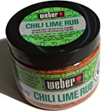 Weber Chili Gluten Free Lime Rub 4.5 Oz. (Pack of 2)