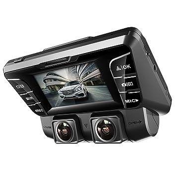 Amazon Com Pruveeo C2 Dual Dash Cam 1920x1080p Front And Rear Car