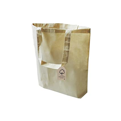 c4c864796ec3 Amazon.com  Organic Reusable Shopping Bag 100 percent Cotton Organic ...