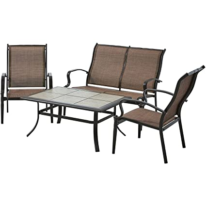 Modern and Contemporary Backyard and Outdoor Patio Bistro Wicker Set  Collection (All Sizes) with Bonus Basically Simple Storage Bin (4-pc Set,