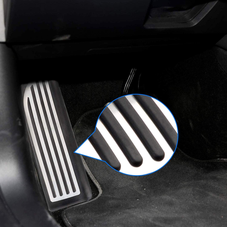 Aluminum Pedal Covers Accelerator & Brake & Foot Rest Foot ...