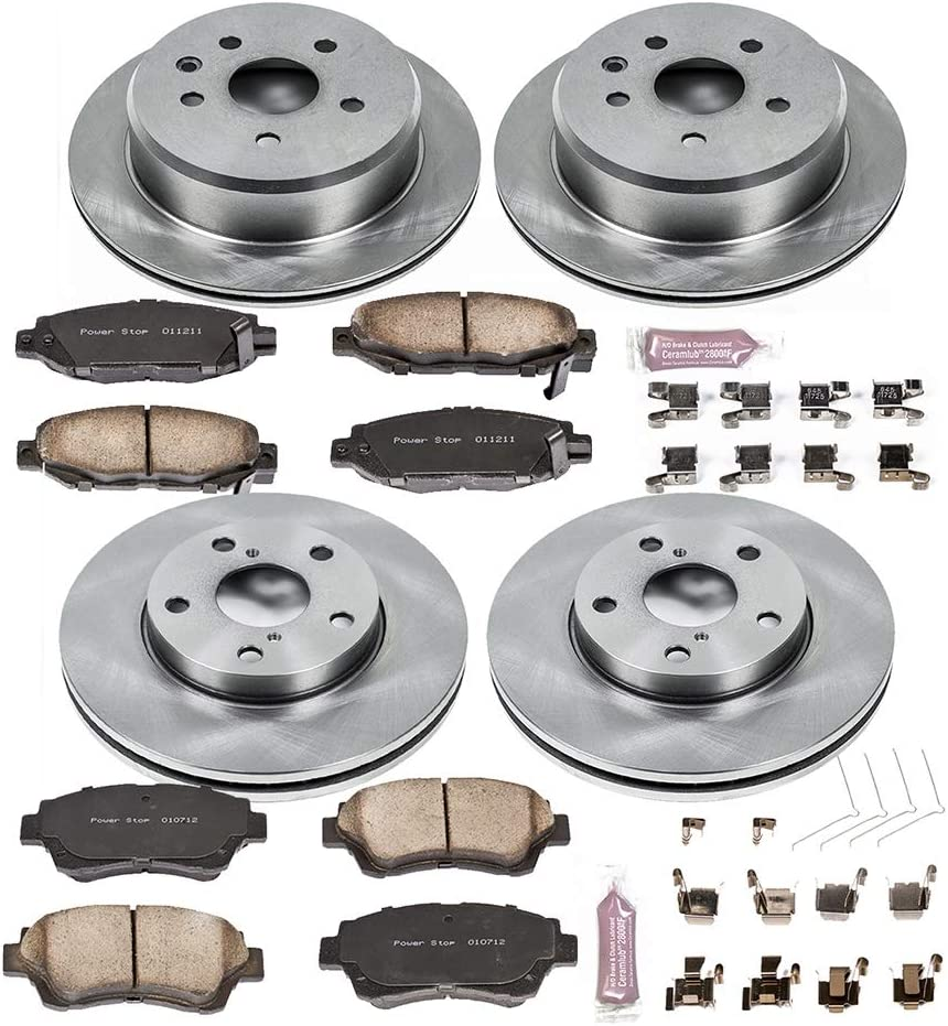 Autospecialty 1-Click OE Replacement Brake Kit KOE1071