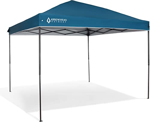ARROWHEAD OUTDOOR 10 x10 Pop-Up Canopy Instant Shelter
