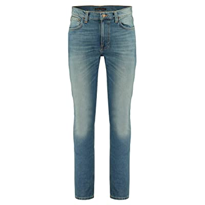 Nudie Jeans Men's Lean Dean Rebel Blues: Clothing