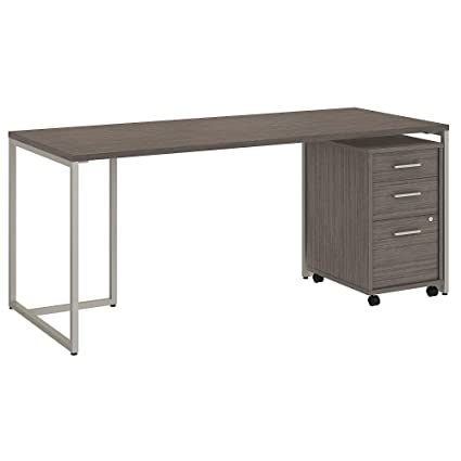 huge selection of a72c1 557f6 Amazon.com: Office by kathy ireland Method 72W Table Desk ...