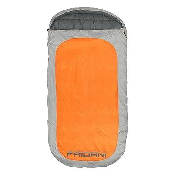 Fridani Po 220S XXL Camping Saco de Dormir de hasta 18 °C Outdoor – Saco