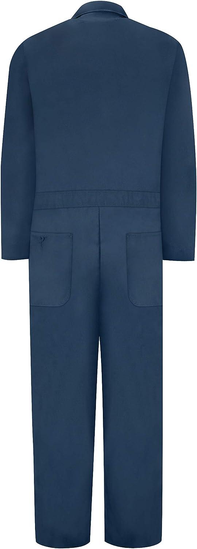 Red Kap Men's Navy Speedsuit: Clothing
