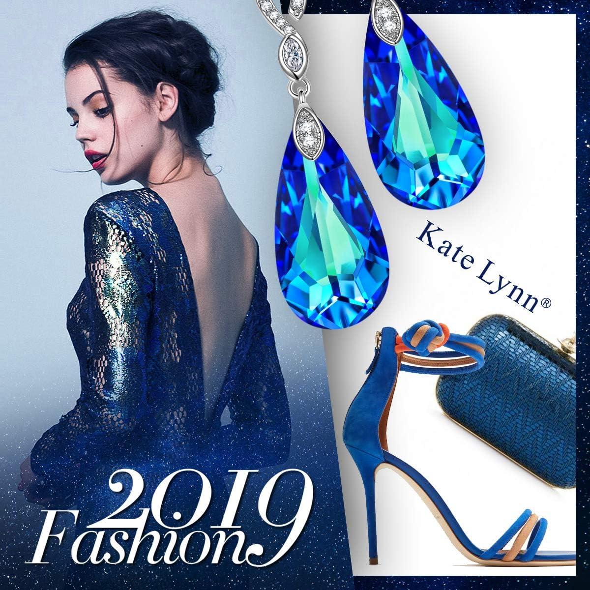 Kate Lynn Cadeau Fete des Meres Larmes de Sir/ène S/érie Bijoux M/étal Cuivre Bo/îte /à Bijoux El/égante Cristaux de Swarovski Design Original