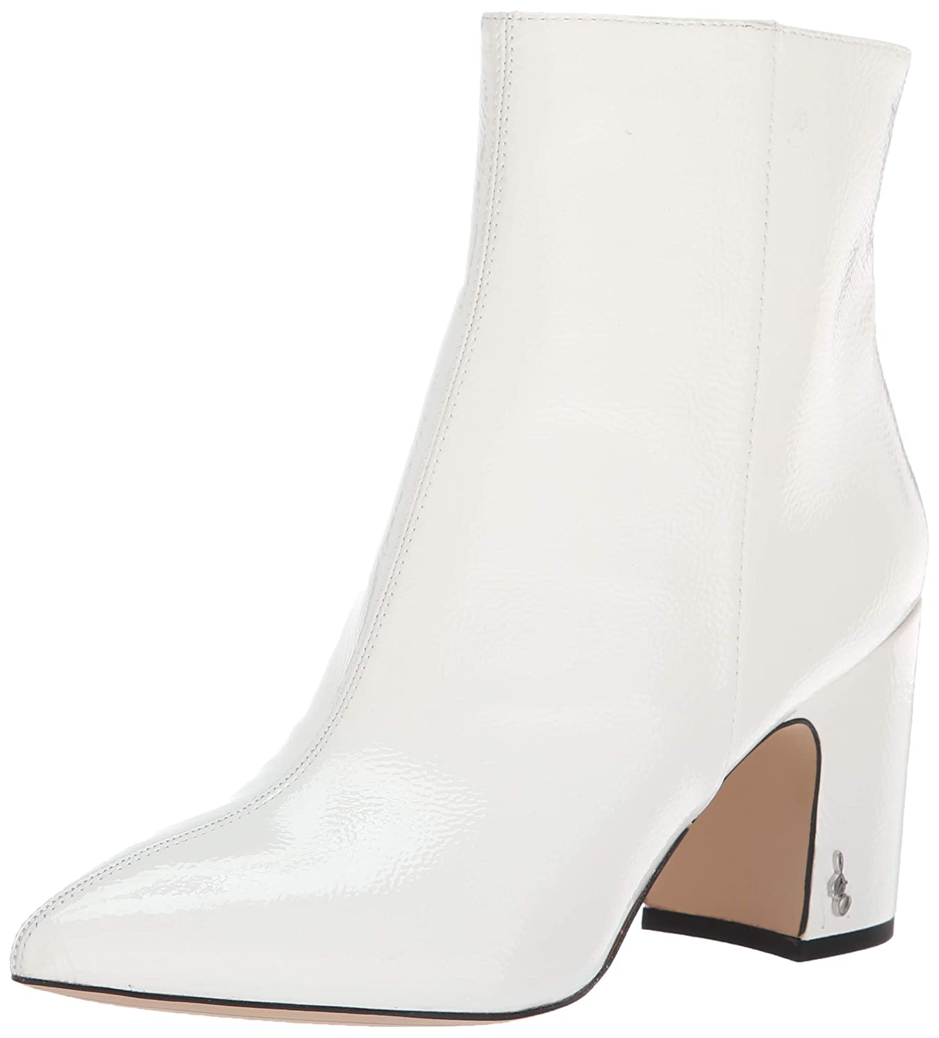 White Patent Sam Edelman Womens Hilty 2 Boots
