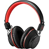 Bluetooth Headphones, Super Lightweight Comfortable WearingMpow Over-Ear Wireless Headphones Foldable Up to 20Hrs, Noise Cancelling Built-in Mic for Hands-Free Call, Wired Mode, TV/PC/MP3/Tablet/iPad