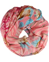 Loop Scarf Women´s Scarf with floral pattern
